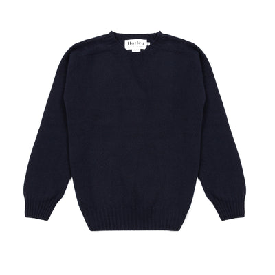 Harley Women's Crew Neck Geelong Jumper in Nero Navy