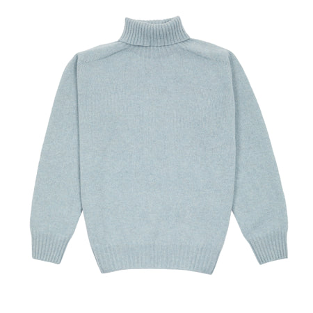 Harley Women's Roll Neck Geelong Lambswool Jumper in Haar