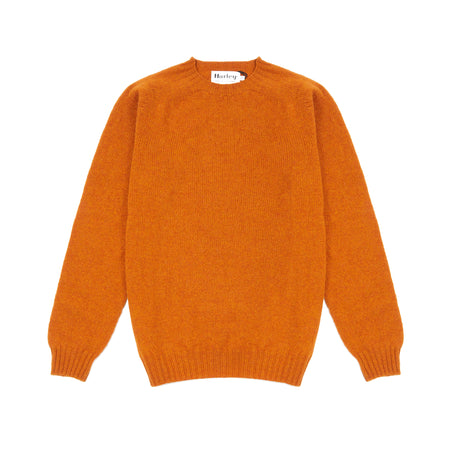 Harley Supersoft Shetland Jumper in Autumn Leaf