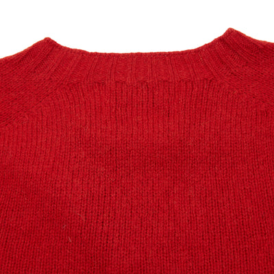 Harley Crew-Neck Supersoft Shetland Jumper in Tudor