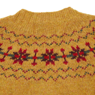 Harley Women's Fair Isle Yoke Jumper in Cummin
