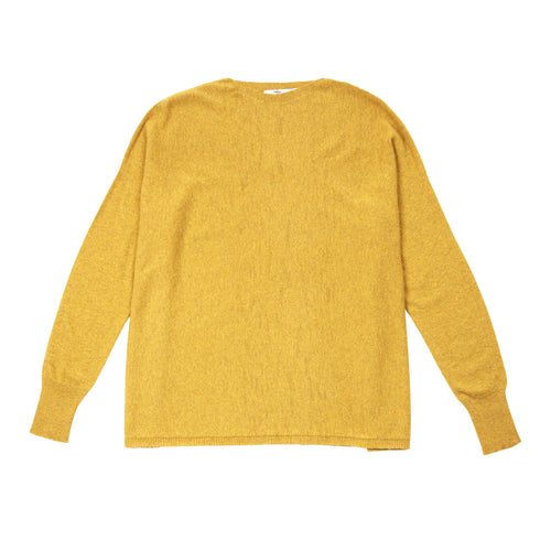 Inis Meáin Women's Maxi Jumper in Yellow