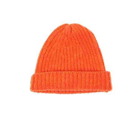 Inis Meáin Wool Cashmere Rib Hat in Tegola
