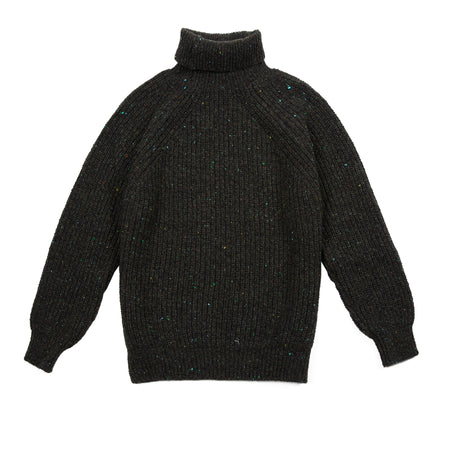 Inis Meáin BB Polo Neck Jumper in Monaghan