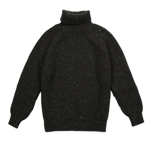 Inis Meáin BB Roll Neck Jumper in Monaghan