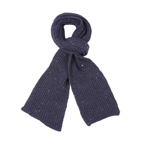 Inis Meáin Wool Cashmere Rib Scarf in Tyrone
