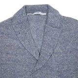 Inis Meáin Linen Relaxed Jacket in Mackerel
