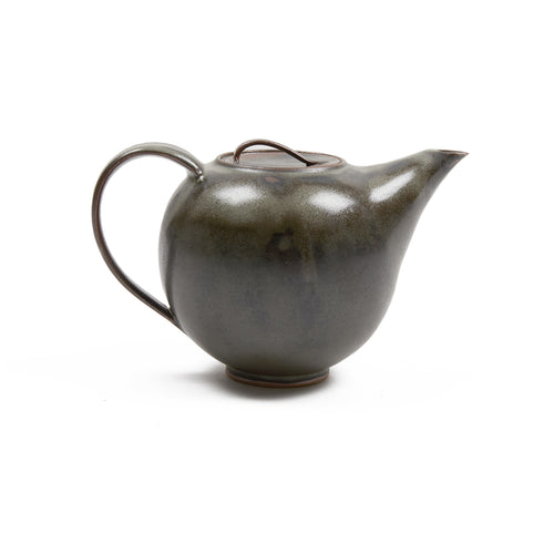 Werkstatt Margaretenhöe Hand Thrown Large Teapot in Black