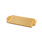 Kaymet Medium Pressed Rubber Grip Aluminium Tray in Gold