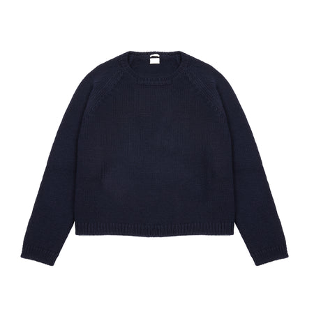Massimo Alba Women's Gisele Jumper in Navy