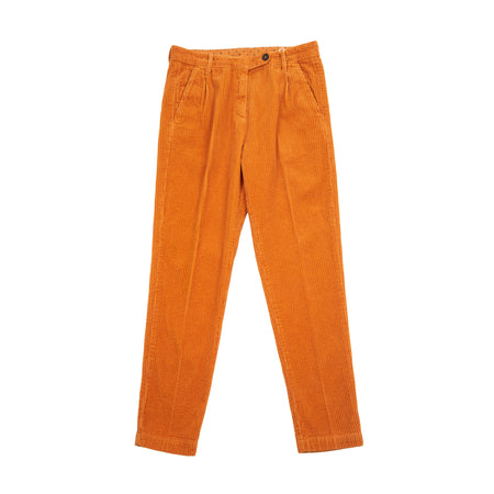 Massimo Alba Women's Wale Cord Trousers in Cumino