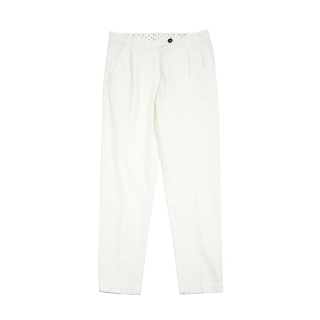 Massimo Alba Women's Cotton/Cashmere Trousers in Latte
