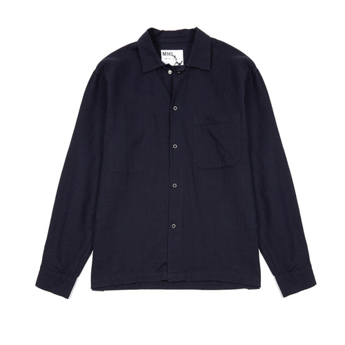 Margaret Howell MHL Factory Shirt in Navy