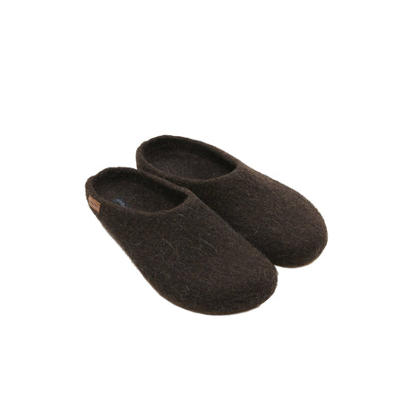 Magicfelt Juraschaf Wool Slippers in brown