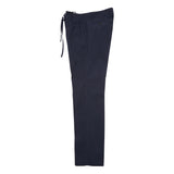 Man 1924 Tomi Cotton Poplin Trousers in Navy