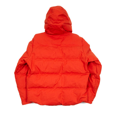 Manifattura Ceccarelli Hooded Down Parka in Orange