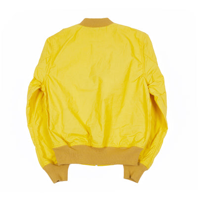 Manifattura Ceccarelli Blazer Coat Bomber Jacket in Yellow