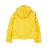 Manifattura Ceccarelli Blazer Coat Short Hooded Parka in Yellow