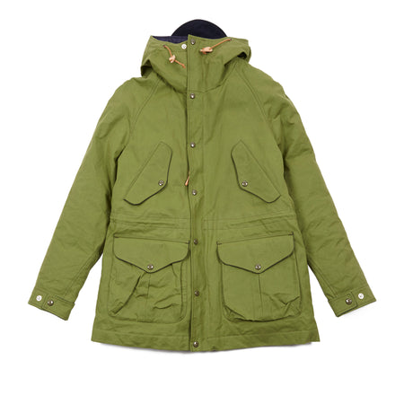 Manifattura Ceccarelli Women's Fisherman Parka in Green