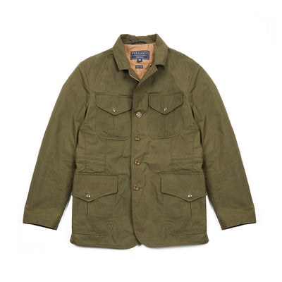Manifattura Ceccarelli Alligator Jacket in Olive