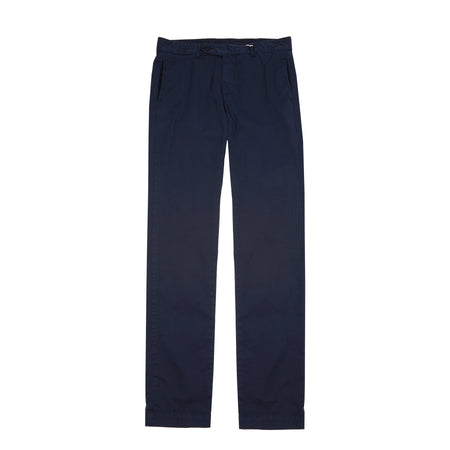 Massimo Alba Winch Cotton Trousers in navy