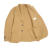 Massimo Alba Catch Linen/Cotton Blazer in Tan