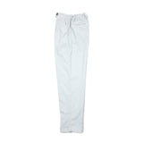 Massimo Alba Women's High Waist Corduroy Trousers in Pale Blue