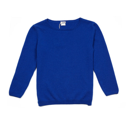Massimo Alba Women's Lidia Cashmere Jumper in Royal Blue
