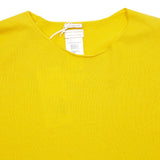 Massimo Alba Women's Bice Round Neck Jumper in Yellow