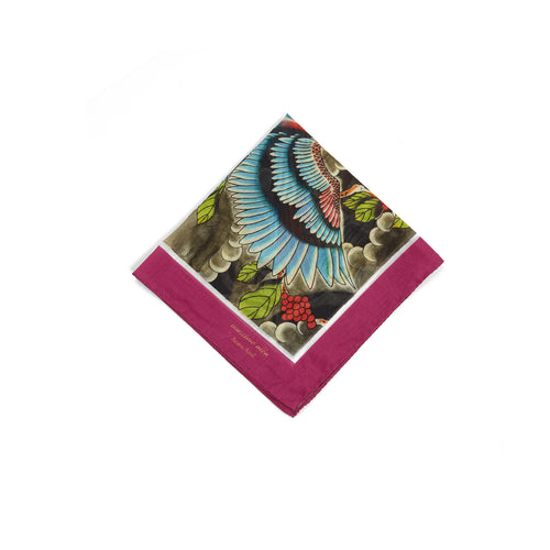 Massimo Alba Women's Cotton Handkerchief in Bombay