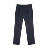 Massimo Alba Ionio Cotton Trousers in Blue