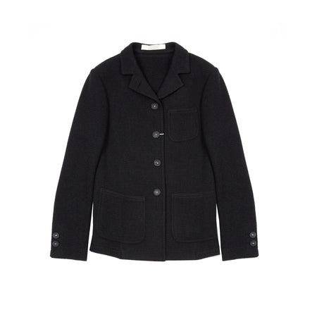 Massimo Alba Women's Unstructured Blazer in Charcoal