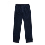 Massimo Alba Winch Corduroy Trousers in Blu