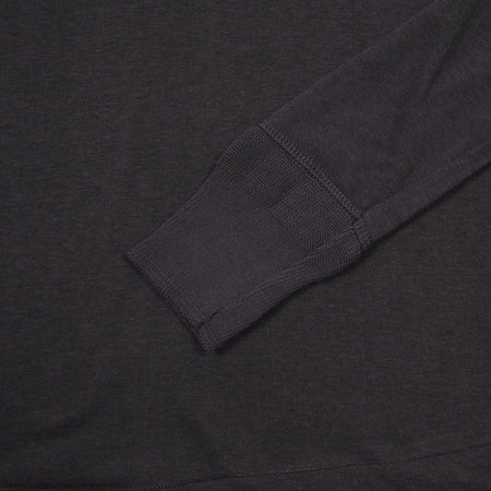 Merz b Schwanen Maco Imit Long Sleeve T-shirt in Charcoal