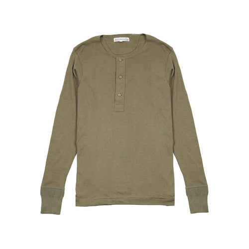 Merz b Schwanen Maco Imit Long Sleeve T-shirt in Army