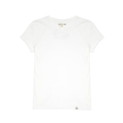 Merz b Schwanen Women's WCT01 Good Basics T-shirt in White
