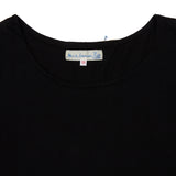 Merz b Schwanen Women's Maco Imit Short Sleeve T-shirt in Deep Black