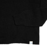 Merz b Schwanen Women's Merino Silk Cashmere Oversized Jumper in Deep Black