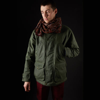Manifattura Ceccarelli New Caban Jacket in Green