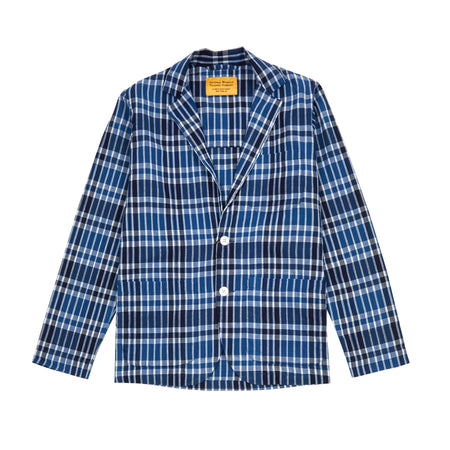 Original Madras Trading Company Jacket in Blue/White