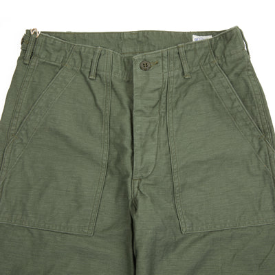 Orslow 01-5002 Fatigue Pants in Green