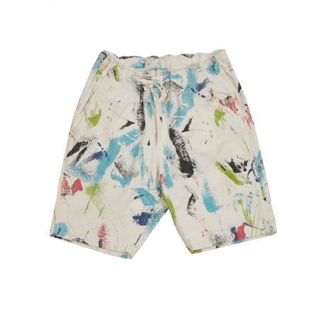 Orslow New Yorker Cotton Printed Shorts