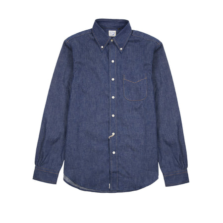 Orslow Rigid Denim Shirt
