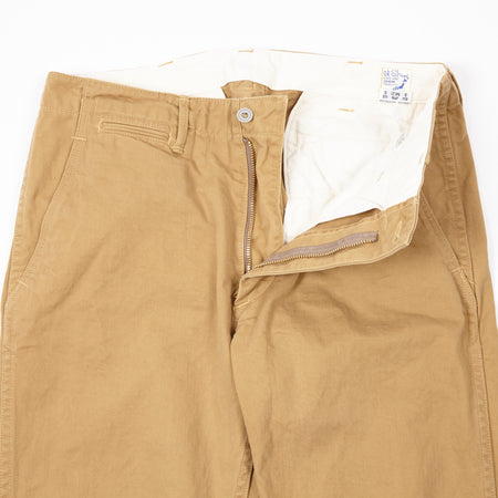 Orslow Cotton Chinos in Khaki