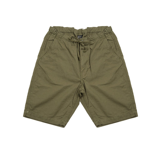 Orslow New Yorker Shorts in Army Green