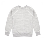 Orslow Melange Cotton Sweatshirt in Grey