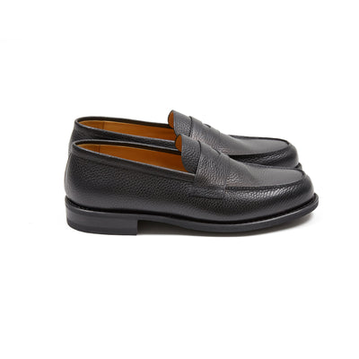 Paraboot Adonis Loafer in Black Grain