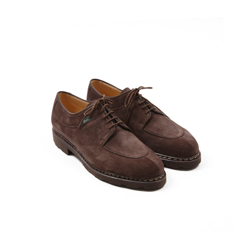 Paraboot Avignon Suede Shoe in Marron