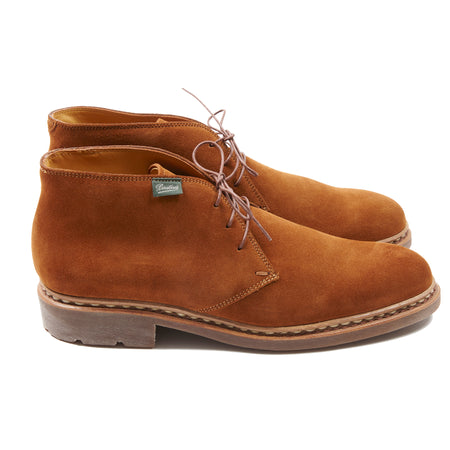 Paraboot Lully Galaxy Suede Boot in Whiskey