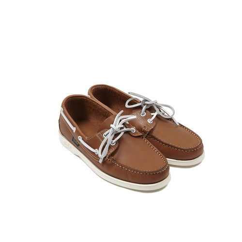 Paraboot Women's Barth Boat Shoe in Whisky